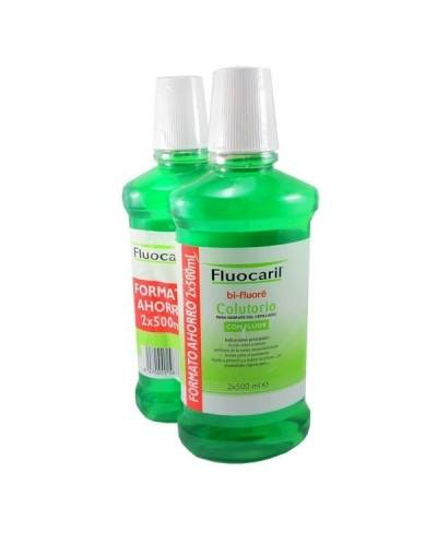 Duplo fluocaril Bi-fluoré colutorio - 2x500 ml