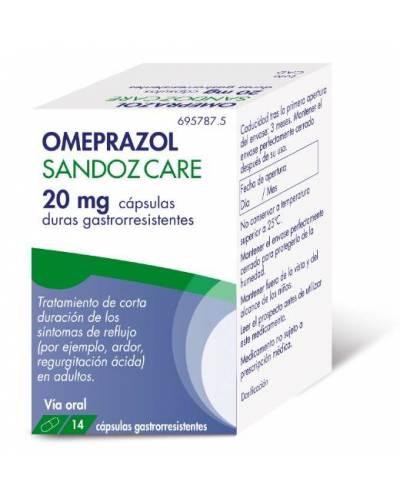 OMEPRAZOL SANDOZ CARE 20 MG...