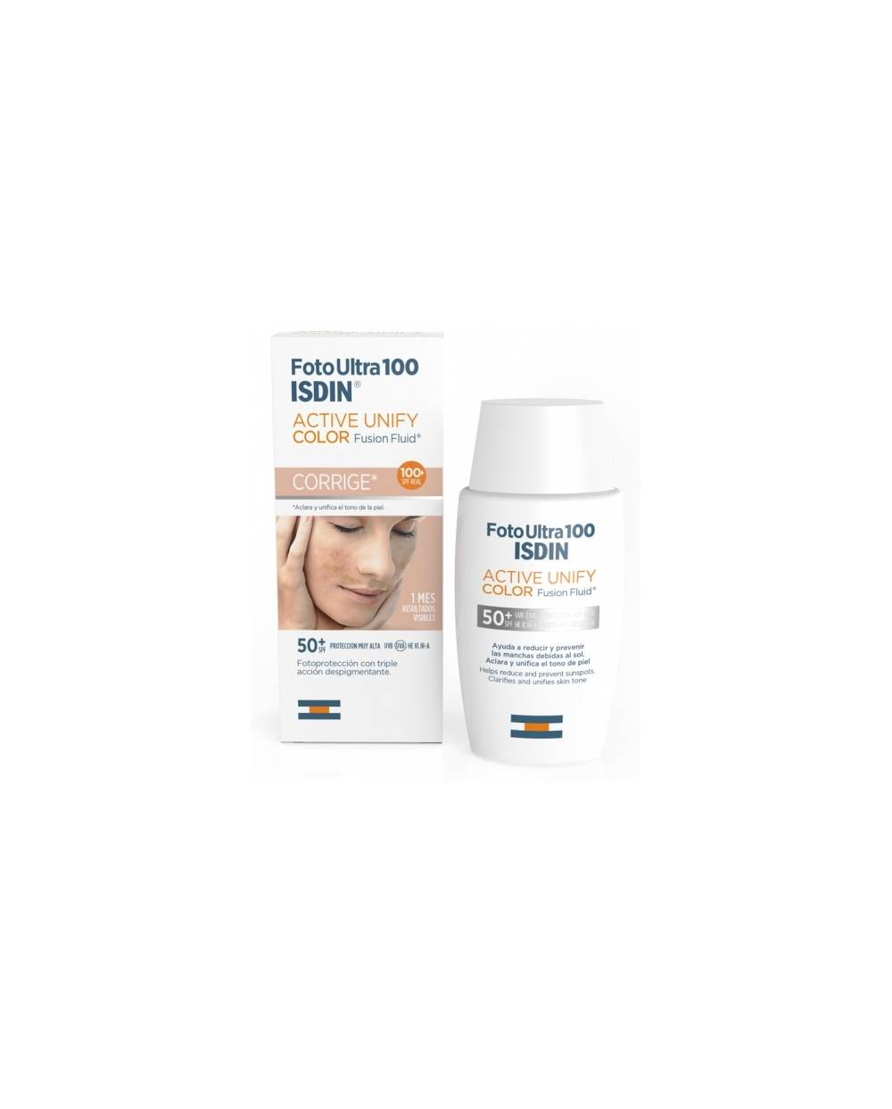 Fusion fluid isdin - spot prevent - color - spf 100+ - 50 ml