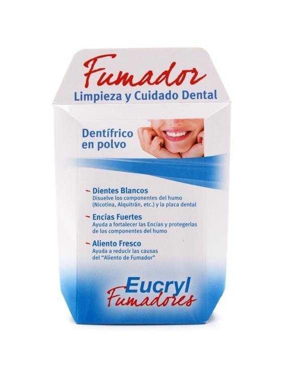Eucryl - fumador - polvo dentífrico - 50 g