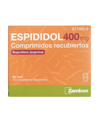 ESPIDIDOL 400 MG 18...