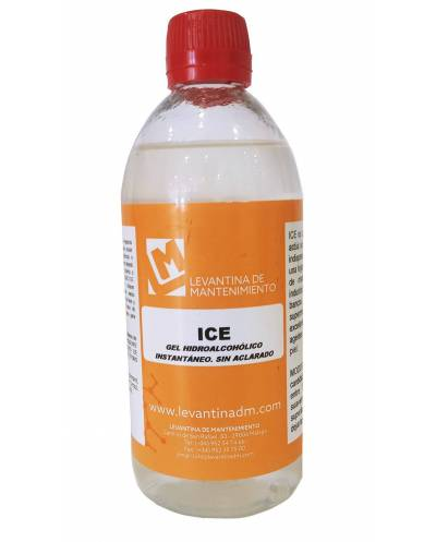 Gel hidroalcohólico ice 500 ml