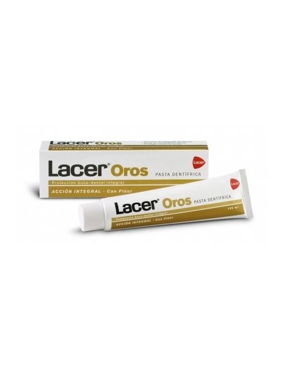 Lacer oros - pasta dentífrica - 125 ml