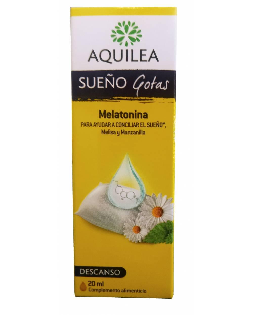 Aquilea sueño Melatonina Gotas 20 ml