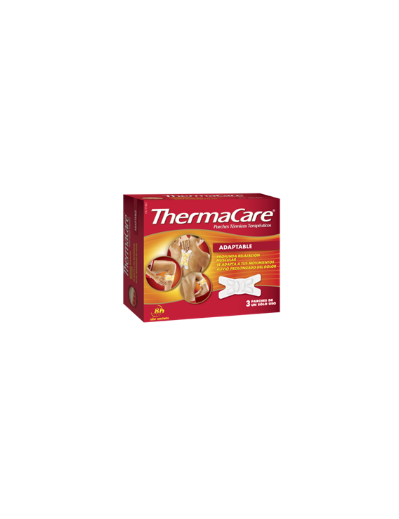 Thermacare 3 parches térmicos