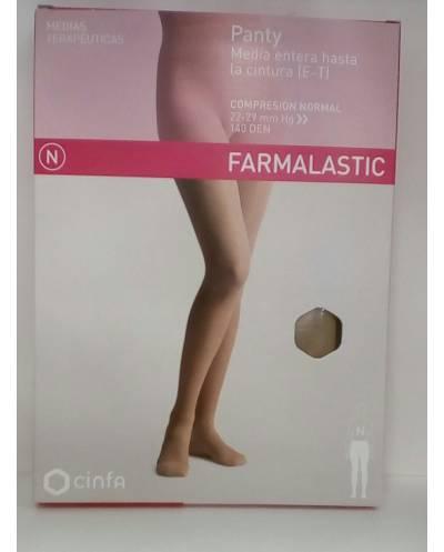 Panty media entera hasta la cintura (e-t) talla extra grande farmalastic