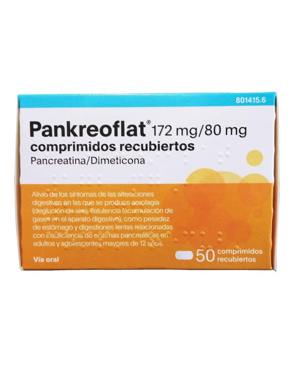 Pankreoflat - 50 comprimidos