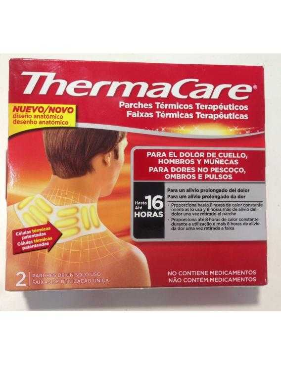 Thermacare parches térmicos terapéuticos  2 u