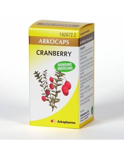 Arkocapsulas - cranberry - 50 caps
