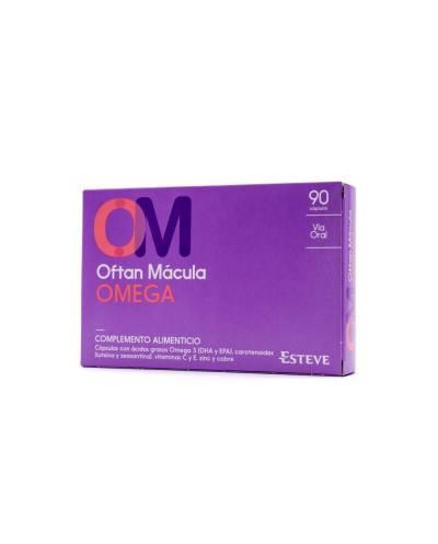 Oftan Mácula Omega  - 90 Cápsulas