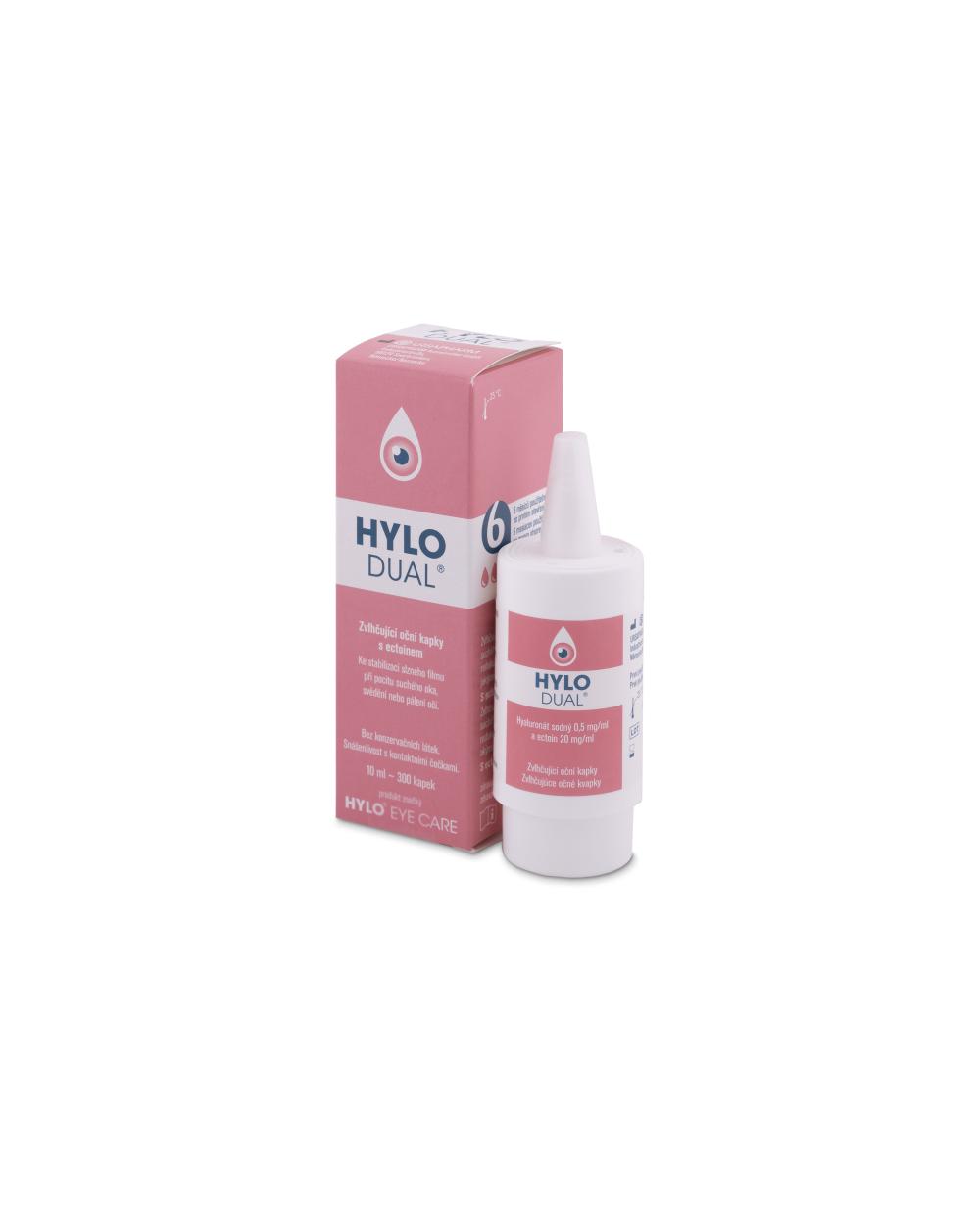 Hylo - dual - colirio - 10 ml