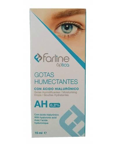 Farline AH - gotas humectantes con ácido hialurónico