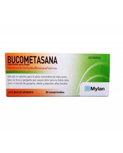 Bucometasana - 30 comprimidos