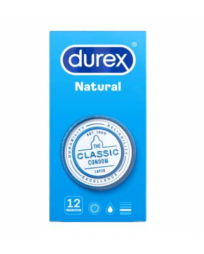 Preservativos Durex Natural Plus 12 Unidades