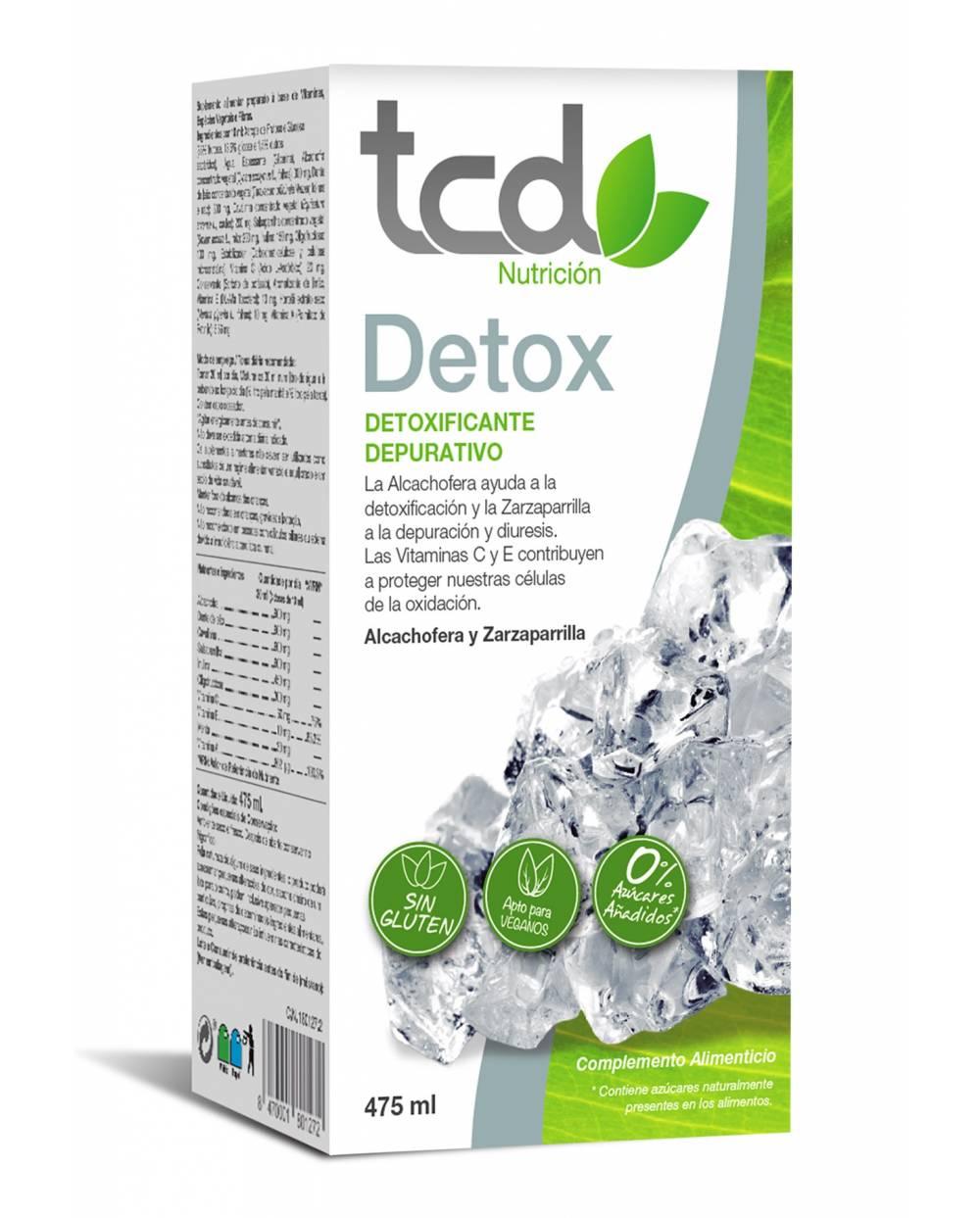Tcd Nutrición Detox - 475 ml