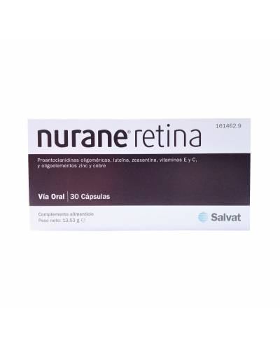 NURANE - RETINA - 30 CÁPSULAS