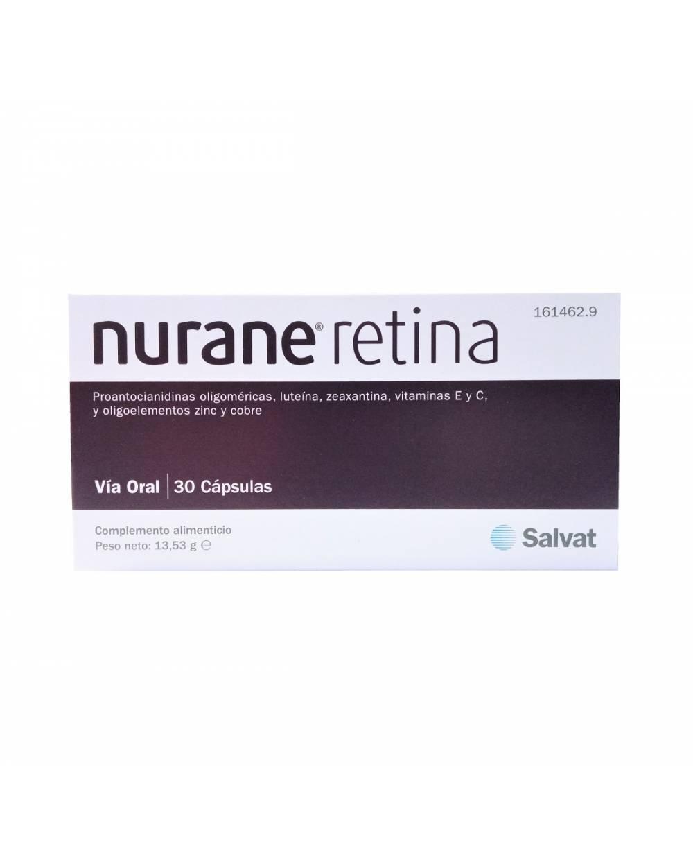 Nurane - retina - 30 capsulas