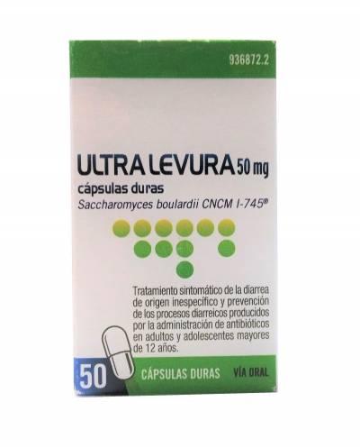 Ultra Levura - 50 mg - 50 cápsulas