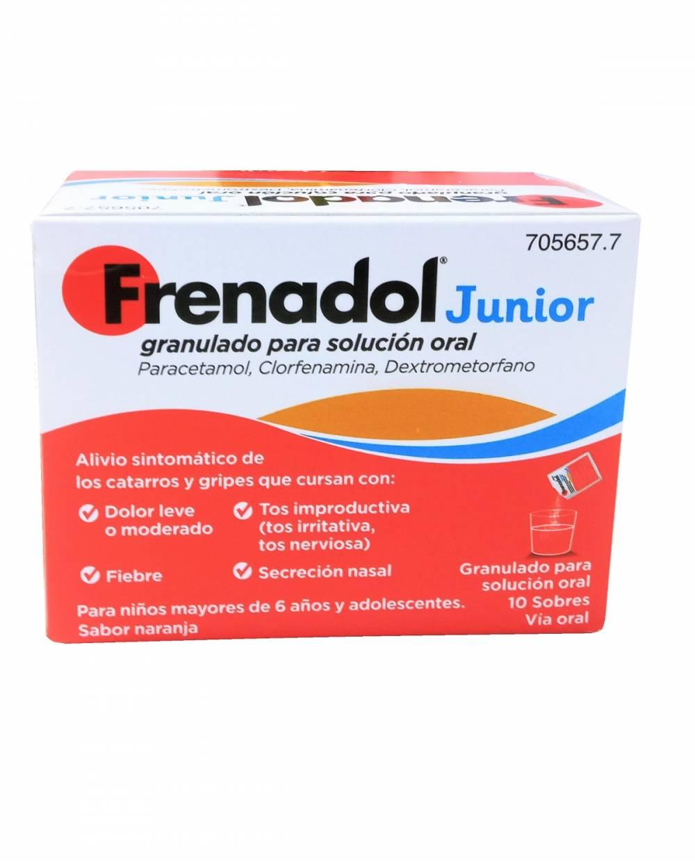Frenadol Junior - 10 Sobres