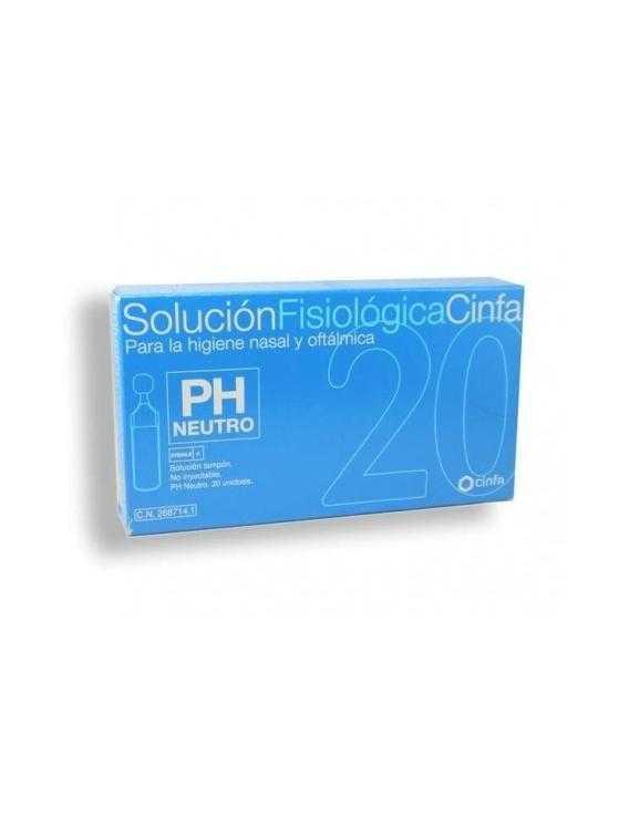 Solución fisiológica cinfa 20 unidosis