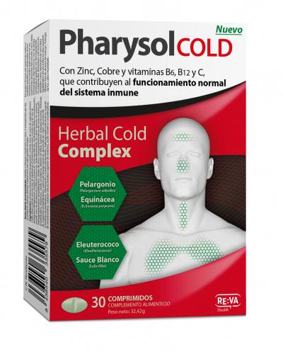 PHARYSOL COLD 30 COMP.