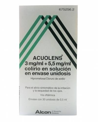 ACUOLENS - 30 UNIDOSIS DE...