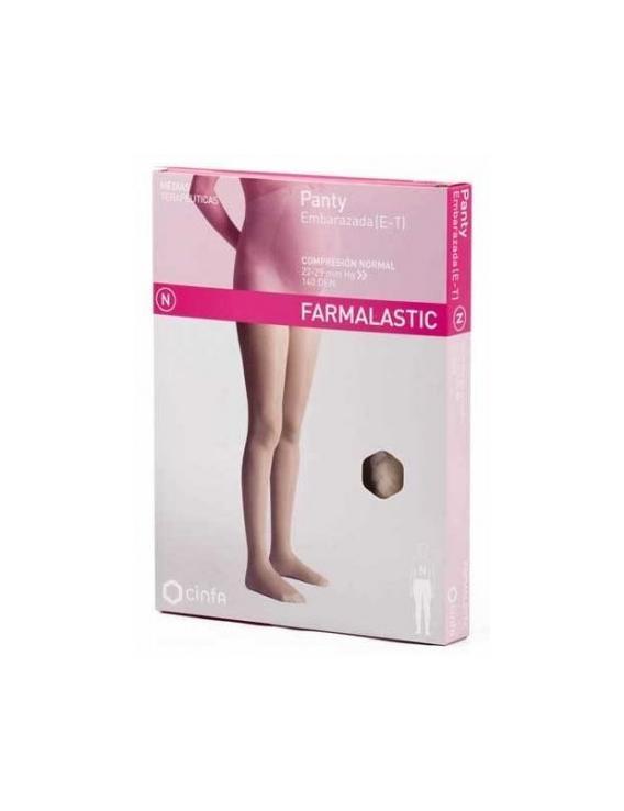 Panty embarazada compresión normal talla extra grande farmalastic
