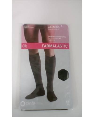 Calcetin algodón elastico compresión normal talla grande 1 und