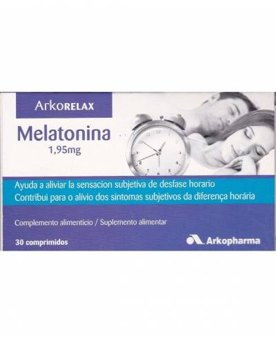 Melatonina 1,95 Mg  Arkorelax  30 Comp