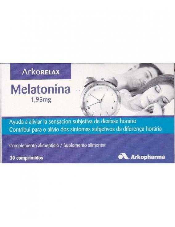 Melatonina 1,95 Mg  Arkorelax  30 Comp