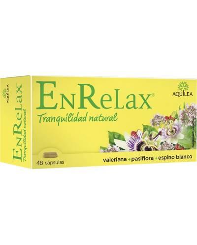 Enrelax - 48 cápsulas - tranquilidad natural