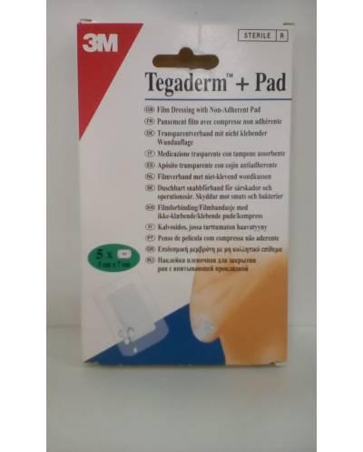 Tegaderm + pad (5x7 cm) - 5 unidades