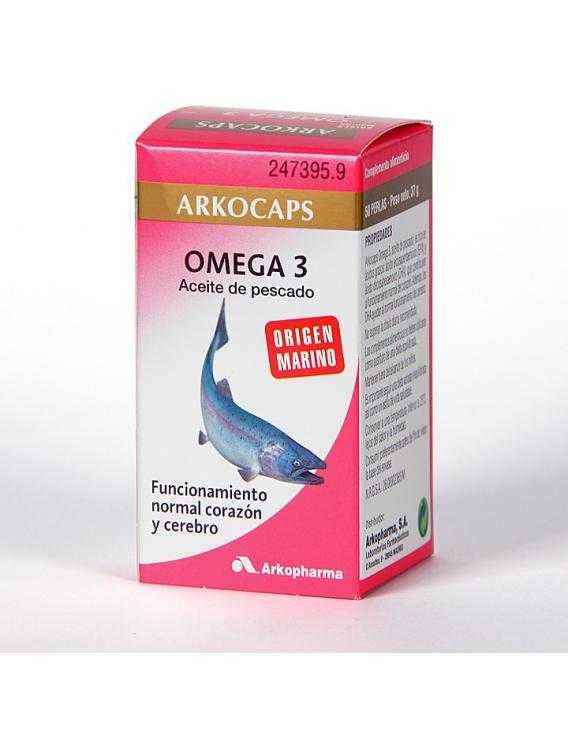 Arkocápsulas omega 3 - 50 perlas