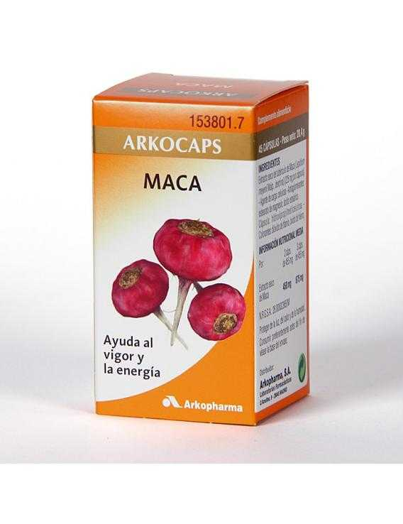 Arkocápsulas maca - 45 cápsulas