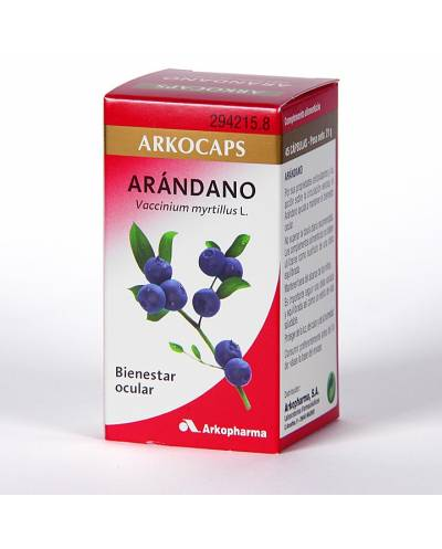 Arkocápsulas arándano - 45 cápsulas