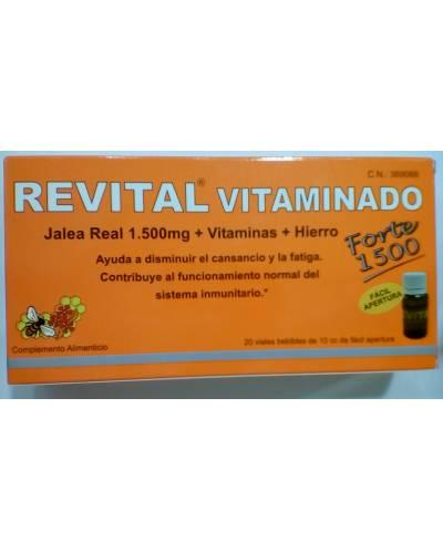 REVITAL VITAMINADO - 20 VIALES