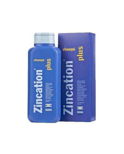 Zincation plus - 10 mg/4 mg/ml - champú - 200 ml