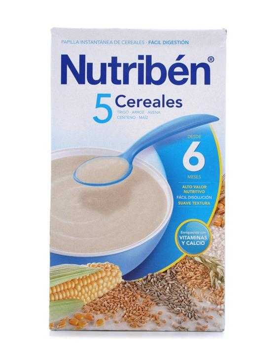Nutriben 5 cereales 600 gr