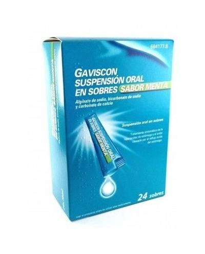Gaviscon - menta - 24 sobres suspensión oral
