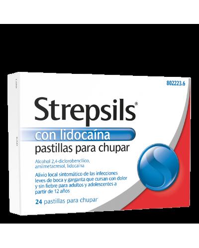 STREPSILS CON LIDOCAÍNA -...