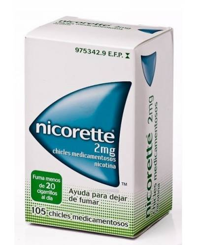 Nicorette - 2 mg - 105 chicles