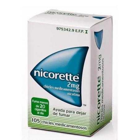 Nicorette - 2 mg - 105 chicles