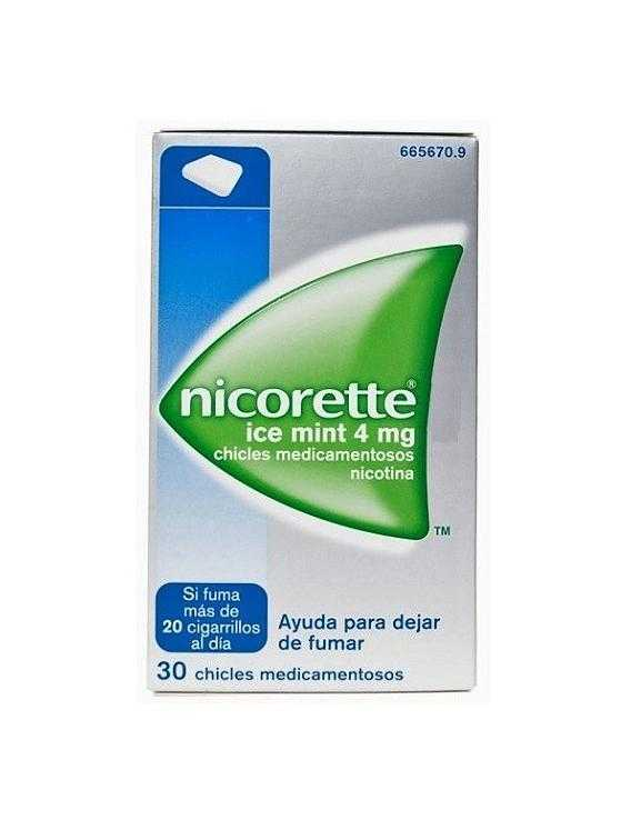Nicorette ice mint - 4 mg - 30 chicles