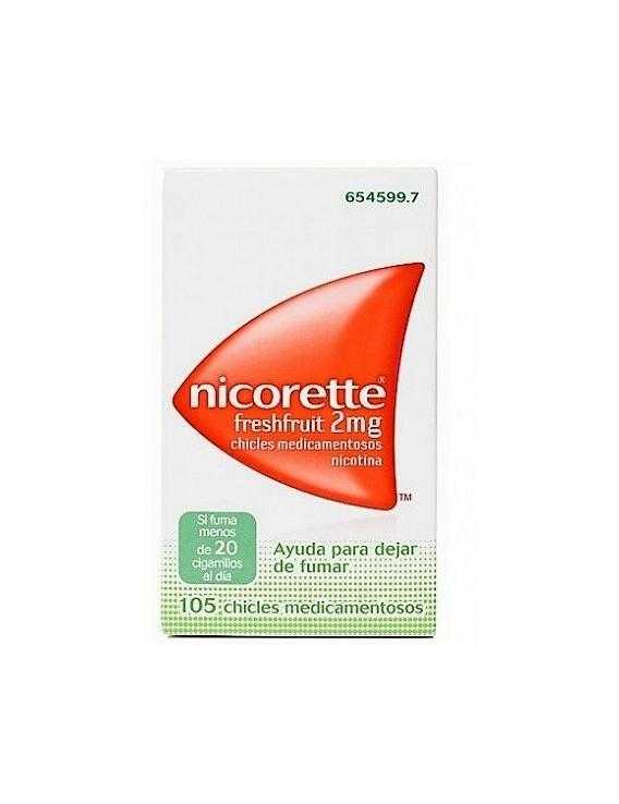 Nicorette freshfruit - 2 mg - 105 chicles