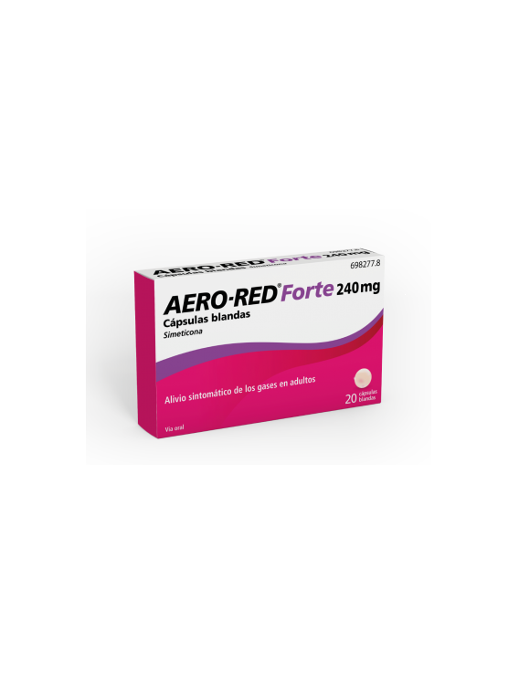 Aero-red forte - 240 mg - 20 cápsulas blandas