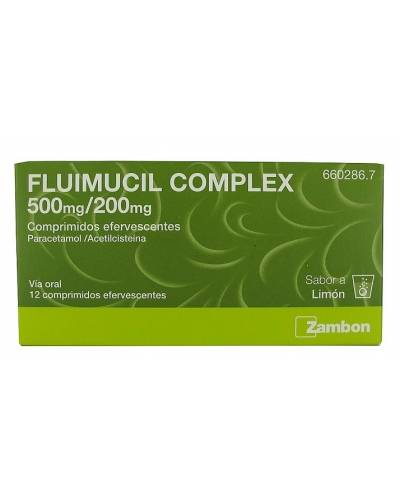 Fluimucil complex - 12 comprimidos efervescentes