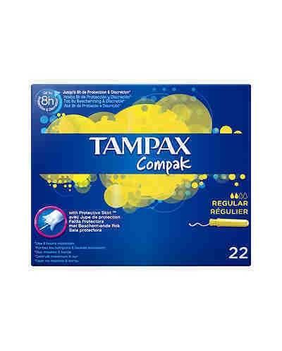 TAMPAX - COMPACK - REGULAR...
