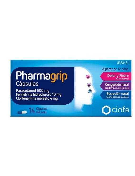 Pharmagrip - 14 Cápsulas