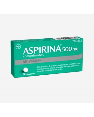 ASPIRINA 500 MG - 20...