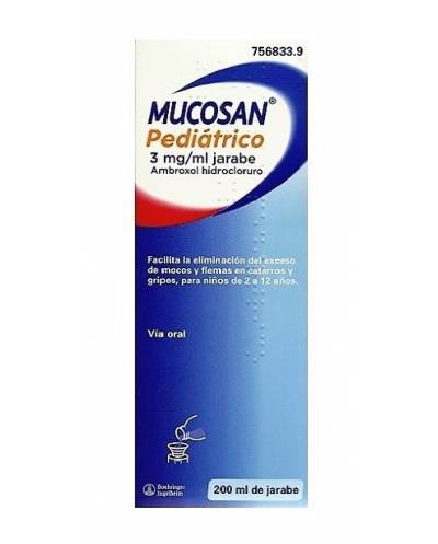MUCOSAN PEDIÁTRICO - 200 ML...
